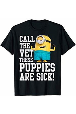 Minions T-shirts - Minions Call The Vet These Puppies Are Sick T-Shirt