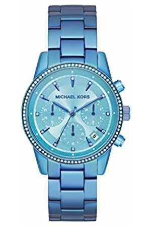Michael Kors Womens Chronograph Quartz Watch with Stainless Steel Strap MK6684