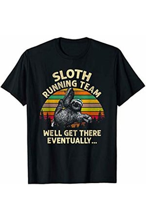 Tropique Running Gift Apparel Sloth Running Team Shirt