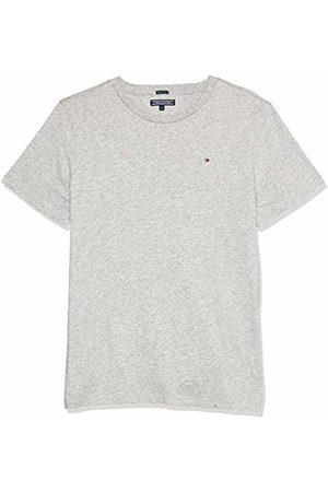 Tommy Hilfiger Boys Basic Cn Knit S/s T-Shirt, Heather 004