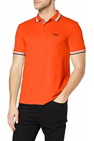 HUGO BOSS Men's Paddy Plain Regular Fit Short Sleeve Polo Shirt