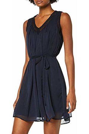 Vero Moda Women's Vmenjoy Sl Dress WVN, Night Sky