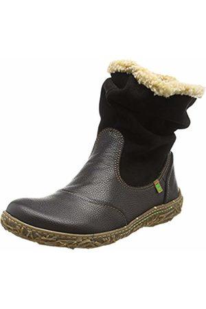 El Naturalista Women's N758 Soft Grain-LUX Suede /Nido Slouch Boots