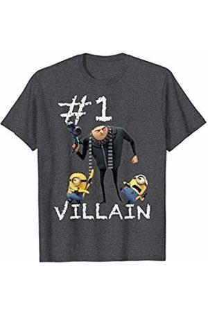 Minions Father's Day #1 Villain Blaster Portrait T-Shirt