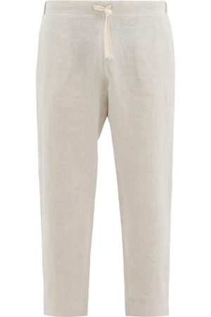 MARANÉ Drawstring Linen Trousers - Mens