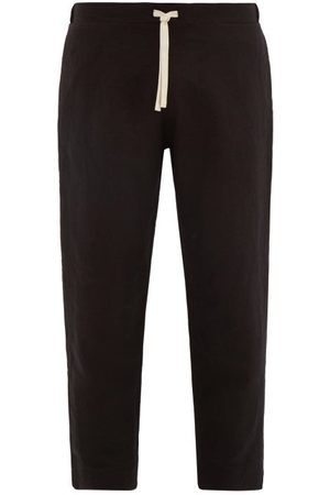MARANÉ Linen Drawstring Trousers - Mens