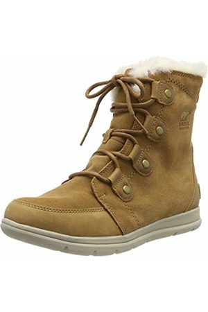sorel Women's Explorer Joan Snow Boots, (Camel , Ancient Fossil)