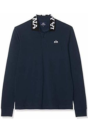 La Martina Men's Man Polo L/s Piquet No Stretch Shirt