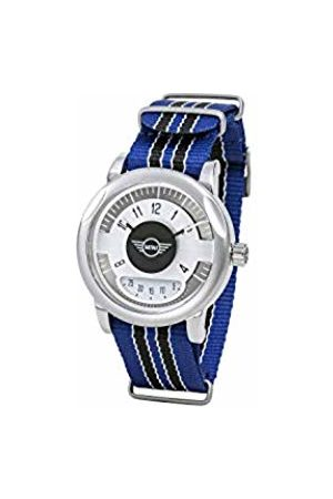 Boden Mini Unisex Adult Analogue Classic Quartz Watch with Nylon Strap SM-007