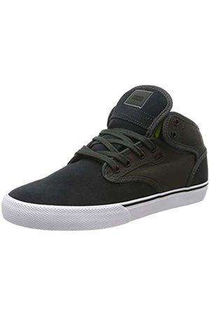 Globe Men's Motley Mid Skateboarding Shoes, (Battleship/Lime 000)