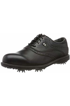FootJoy Men's Hydrolite 2.0 Golf Shoes, Negro / Negro Grana