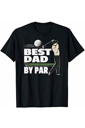 Fathers Day Gift Shirts HQ Men T-shirts - Mens Best Dad By Par Father's Day Golf T-Shirt