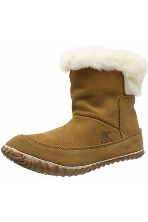 sorel Women's Boot, OUT N ABOUT BOOTIE, (Elk)/White (Natural)