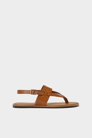 Zara Cross strap sandals