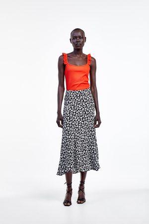 Zara Bodysuit with ruffled straps