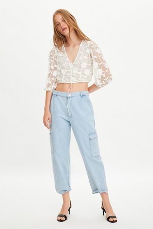 39f33fda7da Zara embroidered-leg women's shirts & blouses, compare prices and ...