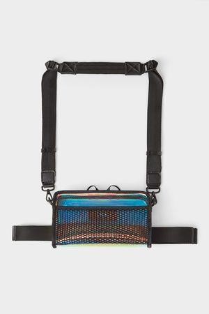 Zara Men Bags - Vinyl crossbody belt bag