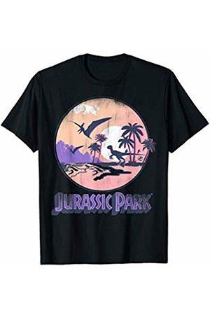 Jurassic Park Destination Island Retro T-Shirt