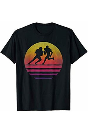 Merchalize Retro Vintage Sunset Old School American Football Sport Gift T-Shirt