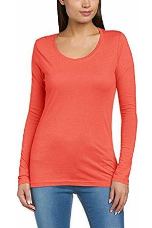 Anvil Women's Sheer Scoop Neck Long Sleeve T-Shirt