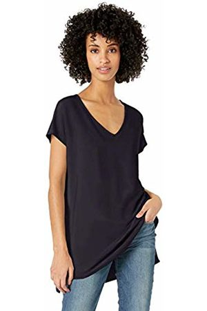 Daily Ritual Women's Supersoft Terry Dolman-Sleeve V-Neck Tunic