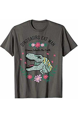 Jurassic Park Dinos Eat Man Women Inherit The Earth T-Shirt