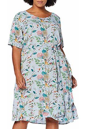 Zizzi Women's Casual Kleider Dress, ( 1015)