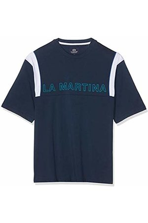 La Martina Men's Man T-Shirt S/s Cotton Jersey Kniited Tank Top