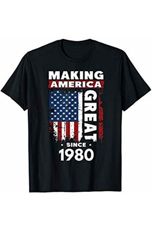 Funny 39th Birthday Gift Ideas Store Making America Great Since 1980 T-Shirt