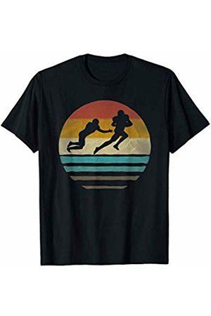 Merchalize Retro Vintage Sunset Old School American Football Sport Gift T-Shirt