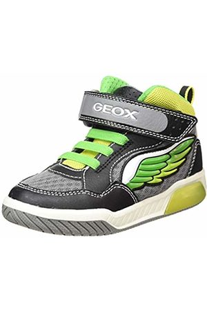 Geox J Inek Boy D Hi-Top Trainers, ( /Lime C0802)