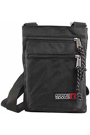 Coronel Tapiocca Bandolera Urban Tapioca, Men's Cross-Body Bag, (Negro)