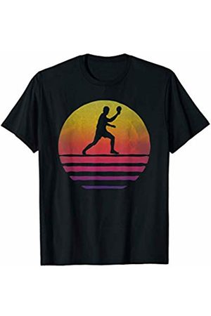 Merchalize Table Tennis Sport Retro Vintage Sunset Old School Funny T-Shirt