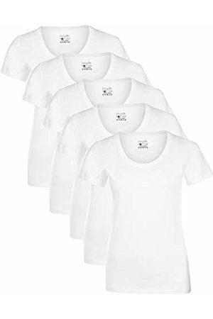 Berydale Für Sport & Freizeit, Rundhalsausschnitt T-Shirt, Weiß, X-Large