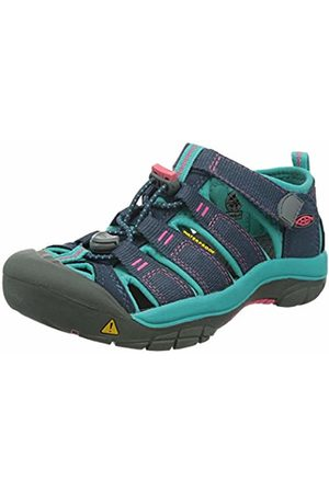 Keen Girls' Newport H2 Hiking Sandals, Midnight Navy/Baltic