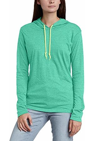 Anvil Women's Basic Long Sleeve Hooded T-Shirt