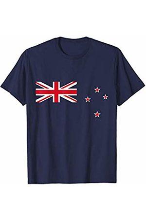New Zealander Flag T-Shirt Co. New Zealand Flag TShirt Kiwi Zealander Flags Gift Men Women T-Shirt