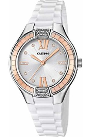 Calypso Womens Analogue Classic Quartz Watch with Plastic Strap K5720/1