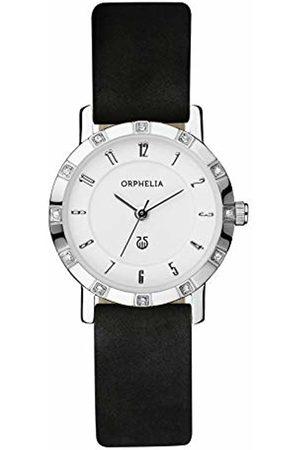 ORPHELIA Women's Quartz Watch with Leather
