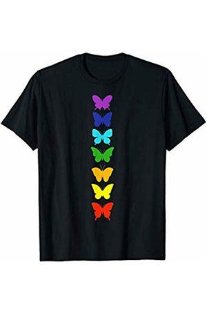 Chakra Meditation Reiki Animal Lover Gift Chakra Butterfly Meditation Reiki Animal Lover Yoga Gift T-Shirt