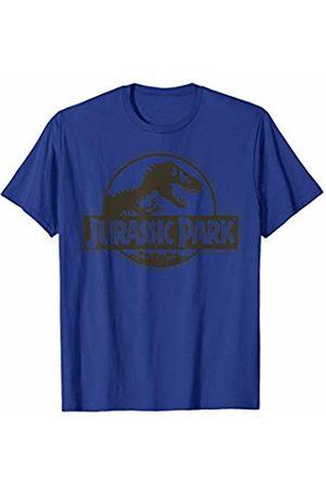 Jurassic Park Classic Logo Black T-Rex T-Shirt