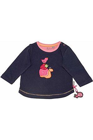 sigikid Girls' Langarmshirt, Baby Long Sleeve Top, ((Peacoat 260)