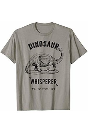 afe79f82c Funny Dinosaurs Vintage Jurassic Dino Whisperer Trias Black T-Shirt