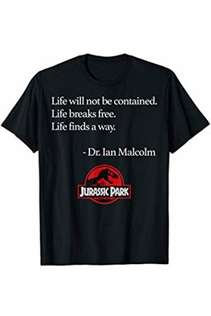 Jurassic Park Life Finds A Way Quote T-Shirt