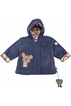 sigikid Girls' Fleece Jacke, Baby Jacket, ((Costal Fiord Melange 284)