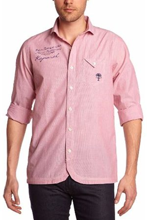 Kaporal Men's OIAMIE13M4 Casual Shirt, -Violet (Berry)