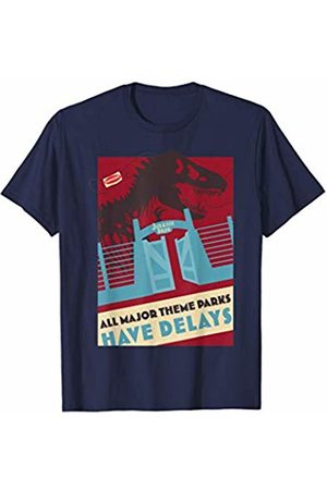Jurassic Park All Major Theme Parks Have Delays Poster T-Shirt