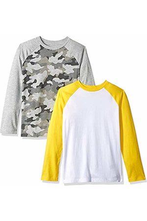 Amazon 2-Pack Long-Sleeve Raglan Shirt Camo/