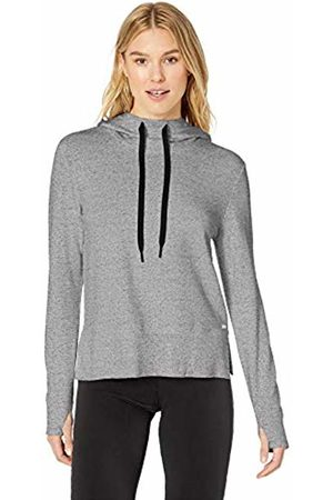 Amazon Studio Terry Long-Sleeve Convertible Hood Shirt Marl