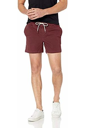 Goodthreads Men's Standard 5 Inch Inseam Pull-On Stretch Canvas Short
